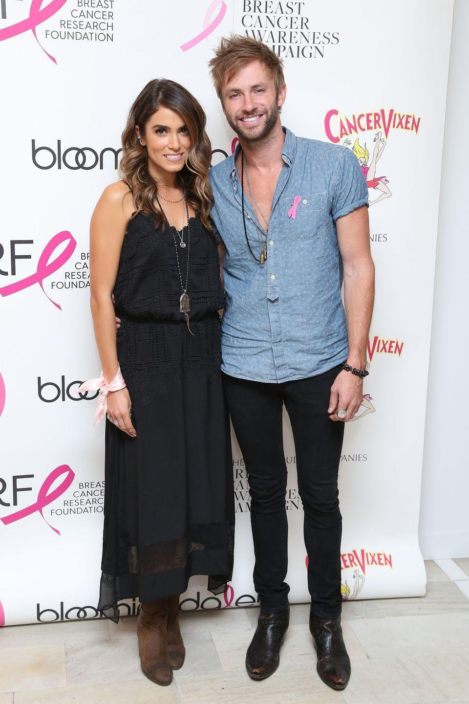 <p>Nikki Reed and her <em>American Idol</em> husband divorced in 2014, but that didn't stop the couple from collaborating on a post-breakup album together. The duo released <em>I'm Not Falling</em> shortly after their divorce was finalized. </p>