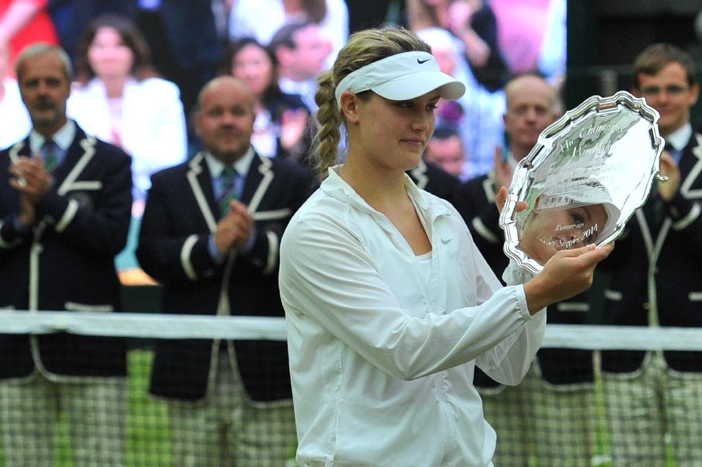 Bouchard was runner-up at Wimbledon in 2014, but is now number 116 in the WTA rankings (AFP Photo/GLYN KIRK)