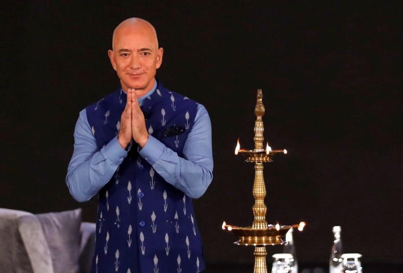 Under fire in India, Amazon offers small business owners $1 billion olive branch