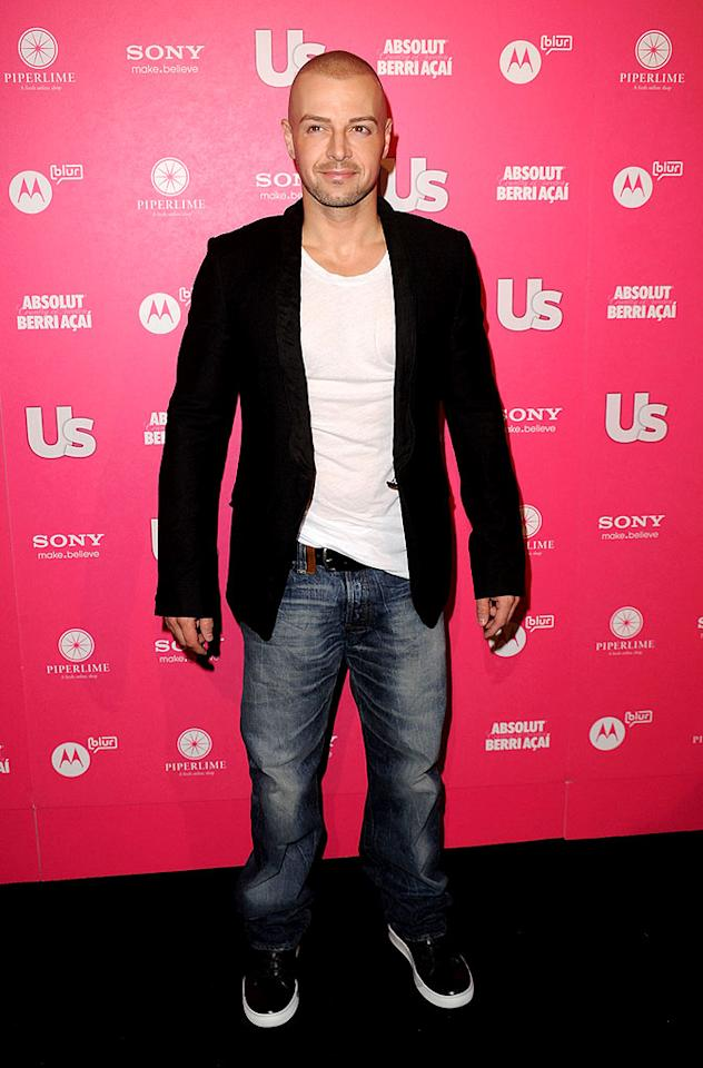 """A bald and beautiful Joey Lawrence kept it casual in jeans and shiny kicks. Unfortunately, the actor will not appear at the upcoming """"Blossom"""" reunion, which occurs May 8 on """"'Til Death."""" Jason Merritt/<a href=""""http://www.gettyimages.com/"""" target=""""new"""">GettyImages.com</a> - April 22, 2010"""