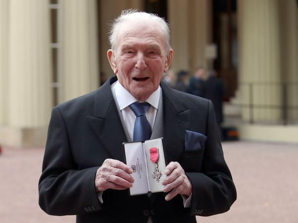 Johnny Johnson was part of the group that immobilised Hitler's industrial heartland (Picture: PA)