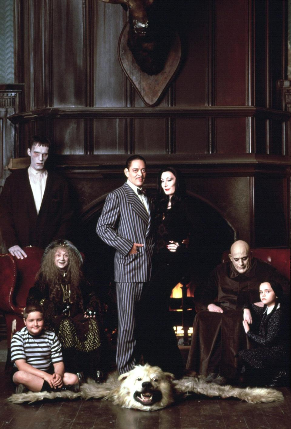 """<p>They may be creepy, mysterious, and spooky, but above all, the Addamses are kooky - making this a fun flick the whole family can watch.</p> <p><a href=""""https://pluto.tv/en/on-demand/movies/the-addams-family-1-1"""" class=""""link rapid-noclick-resp"""" rel=""""nofollow noopener"""" target=""""_blank"""" data-ylk=""""slk:Watch The Addams Family on Pluto TV now!"""">Watch <strong>The Addams Family</strong> on Pluto TV now!</a></p>"""