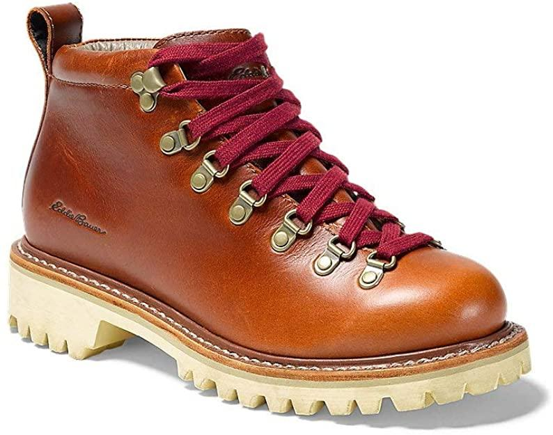 "<h2>Eddie Bauer K-6 Boot</h2><br><strong>The Most Untouched By Time</strong><br>Talk about a time-tested style — Eddie Bauer made this exact boot in 1964, and its popularity is unchecked in the present day. We can see why — behind the quaint leather exterior hides a workhorse shoe, with a stabilizing heel cup and superior forefoot support, and a Vibram outsole.<br><br><strong>The Hype:</strong> 4.6 out of 5 stars; 36 reviews on Amazon.com<br><br><strong>What They're Saying: </strong>""I wasn't sure about the white soles at first but I LOVE these. They have a really retro feel to them, are fully lined, have a comfortable sole, and are waterproof. They are roomy enough for thick socks, so are good for hikes in cold or wet weather. They are a bit on the heavy side, but not to the point of being unpleasant."" <em>— Cookie Munster, Amazon.com reviewer</em><br><br><strong>Eddie Bauer</strong> K-6 Boot, $, available at <a href=""https://www.amazon.com/Eddie-Bauer-Womens-K-6-Boot/dp/B086ZM2312"" rel=""nofollow noopener"" target=""_blank"" data-ylk=""slk:Amazon"" class=""link rapid-noclick-resp"">Amazon</a>"