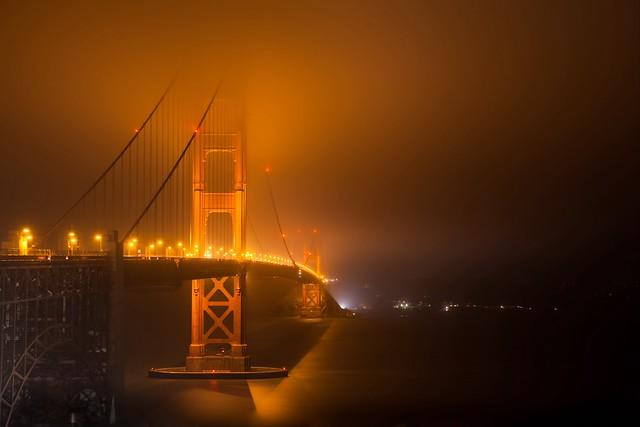 Witching Hour (Golden Gate Bridge), San Francisco