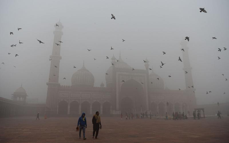 India, home to six of the top ten polluted cities in the world, has struggled in recent years to curb pollution in its capital city, New Delhi, and neighboring states - AFP