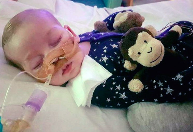 Charlie's mother said: 'He could have had the potential to be a normal, healthy little boy'