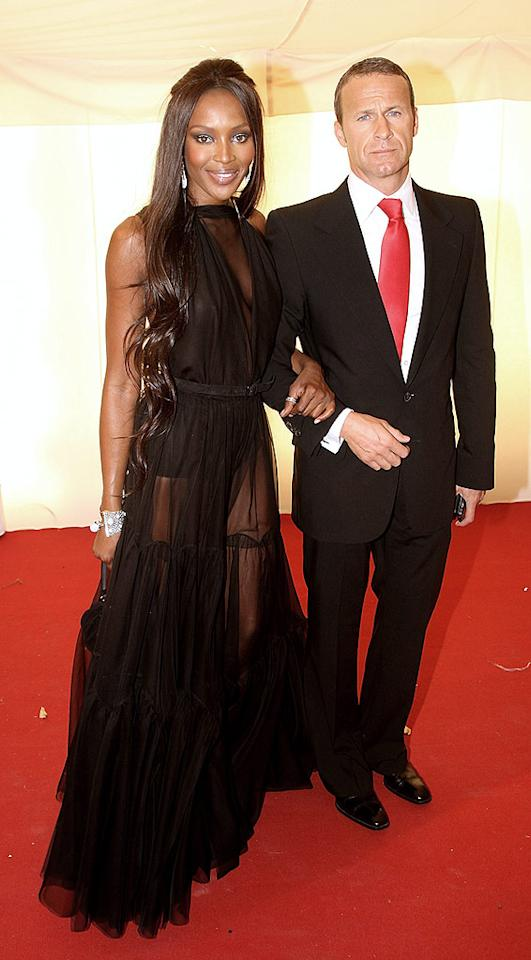 """Despite rumors that Naomi Campbell had been banned from the event, the supermodel showed up in a daring see-through gown. Dave Hogan/<a href=""""http://www.gettyimages.com/"""" target=""""new"""">GettyImages.com</a> - June 25, 2008"""