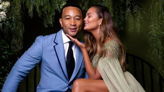 John Legend dan Chrissy Teigen.
