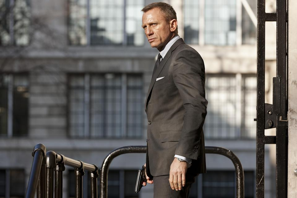 Daniel Craig in a still from the James Bond film Skyfall in 2012. (AP Photo/Francois Duhamel/Sony Pictures, PA
