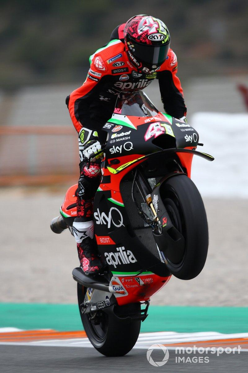 "Aleix Espargaró, Aprilia Racing Team Gresini<span class=""copyright"">Gold and Goose / Motorsport Images</span>"