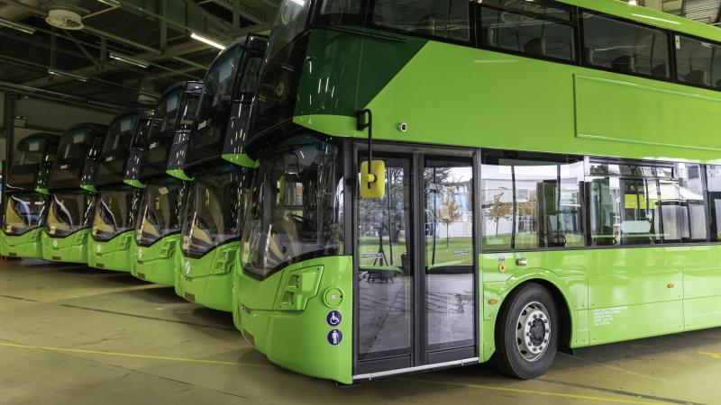 JCB heir announces vision to bring 3,000 hydrogen buses to UK streets