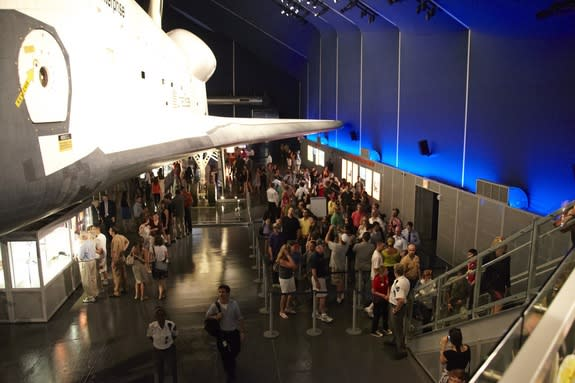 Revamped Space Shuttle Enterprise Exhibit Awes New Yorkers