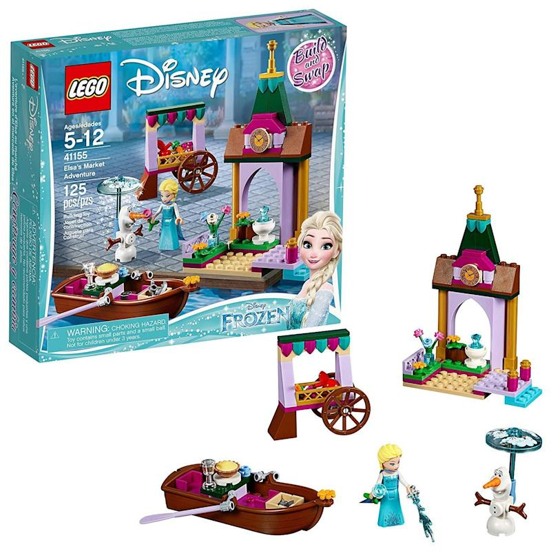 """Frozen 2 is here, whether parents are ready for another round of """"Let It Go"""" or not. <strong><a href=""""https://amzn.to/35bI1wu"""" target=""""_blank"""" rel=""""noopener noreferrer"""">This LEGO """"Frozen 2"""" set</a></strong>&nbsp;includes all of their favorite characters, from Olaf to Anna. <strong><a href=""""https://amzn.to/35bI1wu"""" target=""""_blank"""" rel=""""noopener noreferrer"""">Get it on Amazon</a></strong>."""