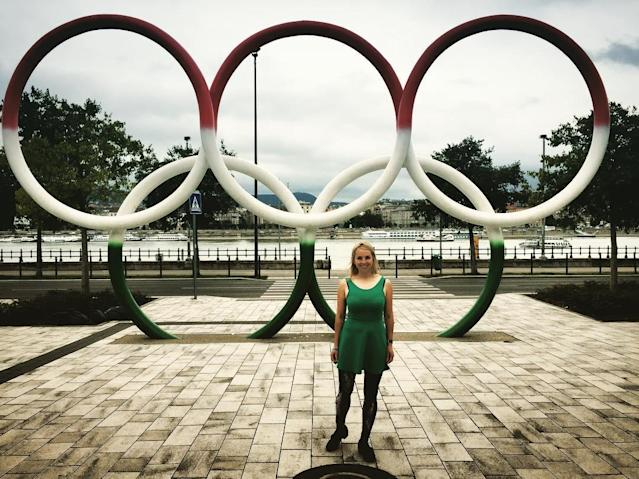 Liz Swaney has dreamed of competing in the Olympics since she was a little girl. That dream came true in 2018. (@lizswaney)