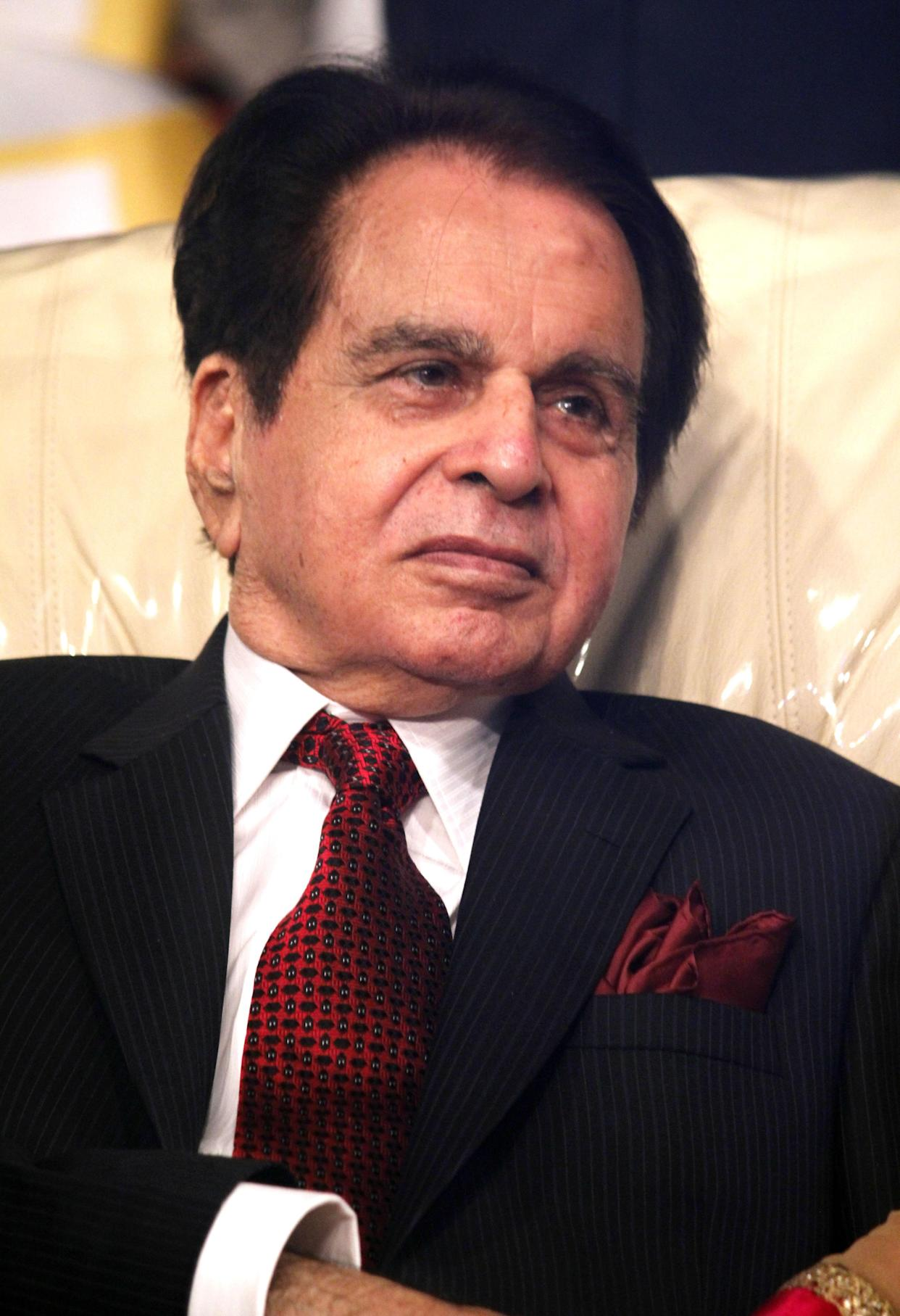 Dilip Kumar's successful career spanned five decades. (Photo credit should read STRDEL/AFP via Getty Images)