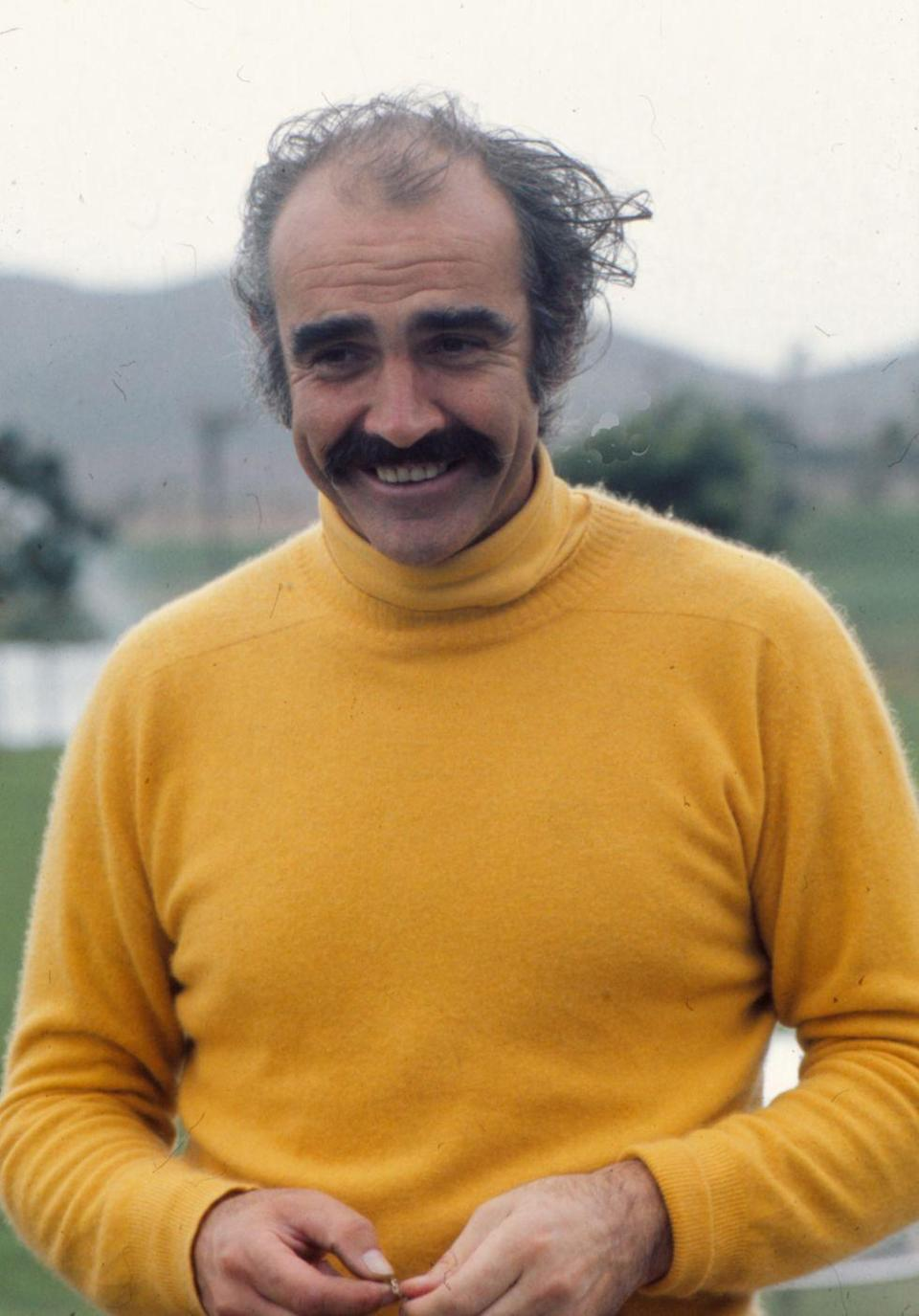 <p>Connery on the golf courses of 'La Manga del Mar Menor' in 1973, Murcia, Spain.</p>
