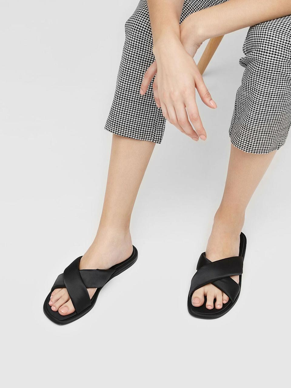"""<h2>Charles & Keith</h2><br><strong>Deal: Up To 50% Off</strong><br>Hundreds of sandals on sale for under $50 — you'll want to grab a refreshment before you peruse this discount party.<br><br><em>Shop <strong><a href=""""https://www.charleskeith.com/us/sale/shoes"""" rel=""""nofollow noopener"""" target=""""_blank"""" data-ylk=""""slk:Charles & Keith"""" class=""""link rapid-noclick-resp"""">Charles & Keith</a></strong></em><br><br><strong>Charles & Keith</strong> Puffed Crossband Sliders, $, available at <a href=""""https://go.skimresources.com/?id=30283X879131&url=https%3A%2F%2Fwww.charleskeith.com%2Fus%2FCK1-70030038.html%3Fdwvar_CK1-70030038_color%3D01"""" rel=""""nofollow noopener"""" target=""""_blank"""" data-ylk=""""slk:Charles & Keith"""" class=""""link rapid-noclick-resp"""">Charles & Keith</a>"""