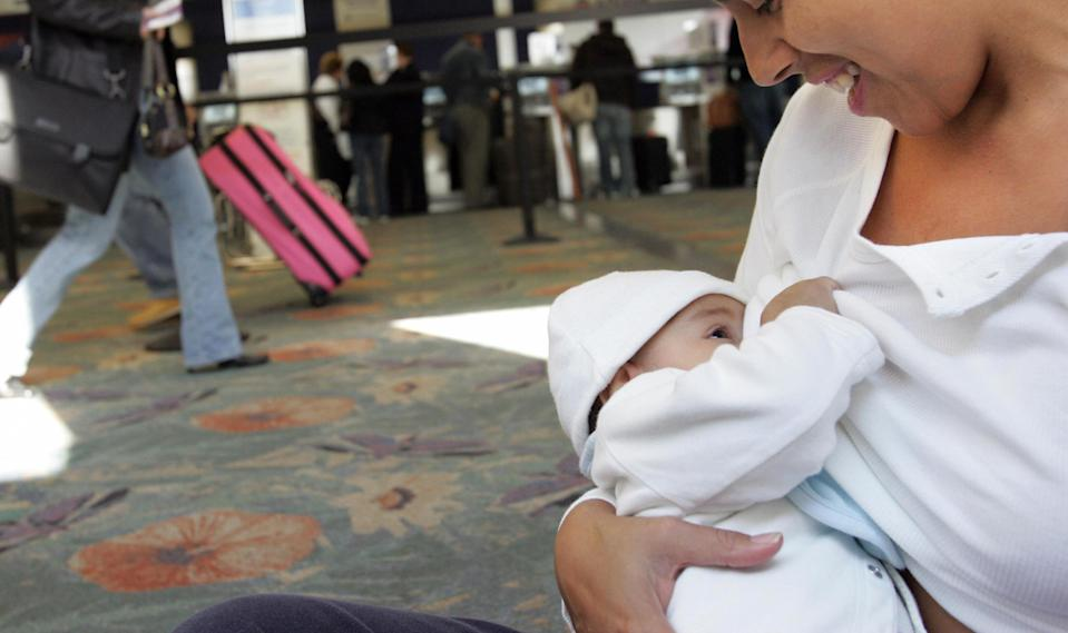 Most airports will be required to provide breastfeeding rooms. (Photo: Getty Images)