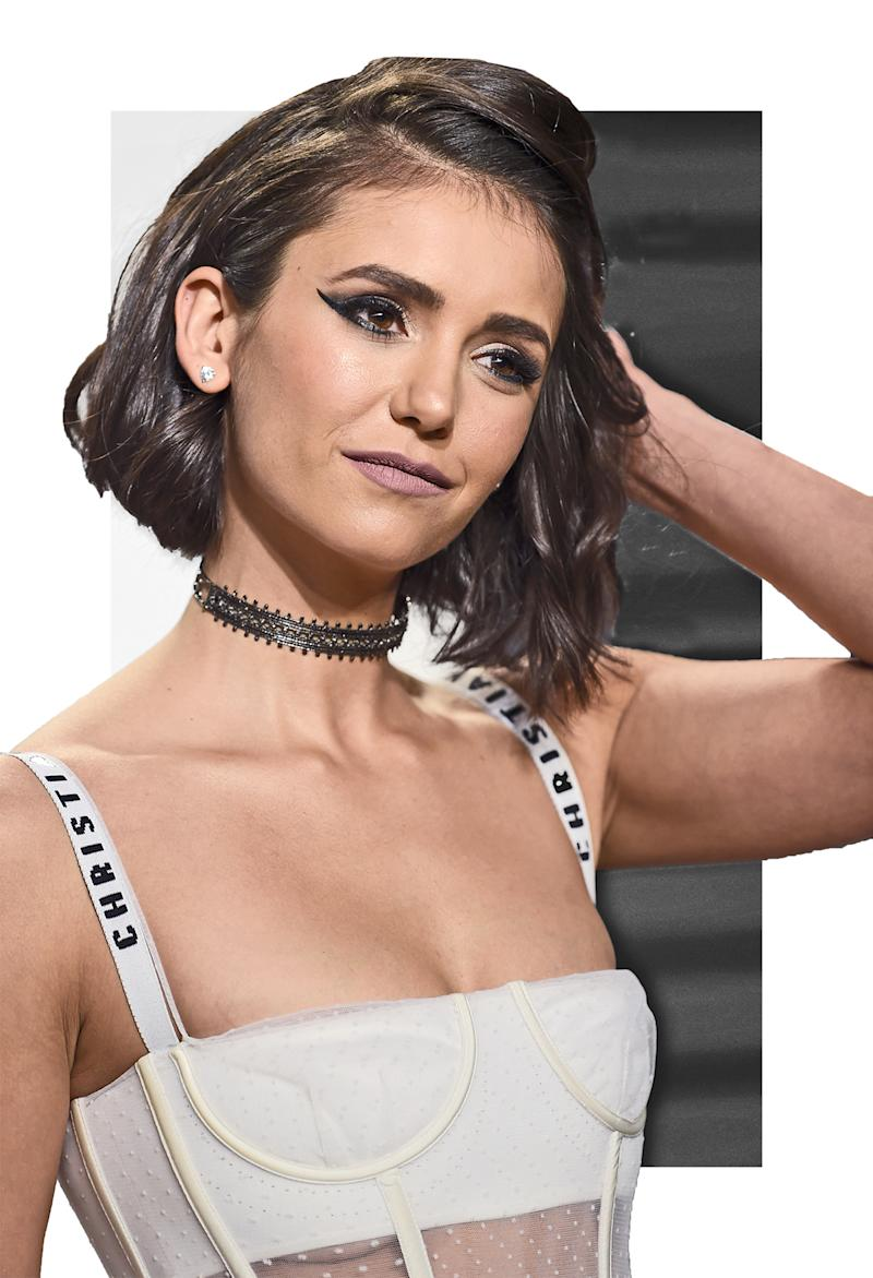 Nina Dobrev Cut 3 Inches Off Her Hair Right Before The Oscars