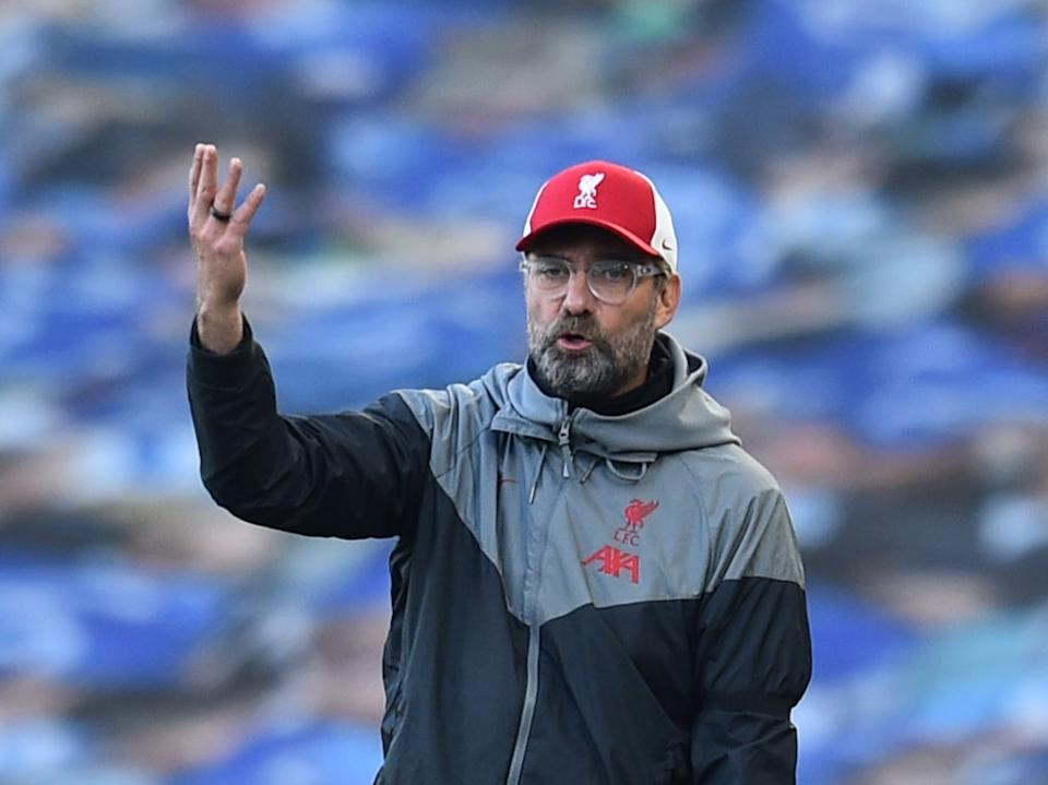 <p>Klopp is upset with the fixtures schedule</p>Liverpool FC via Getty Images