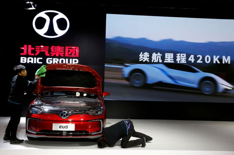 Exclusive: China's BAIC raising Daimler stake to unseat Geely as top shareholder - sources