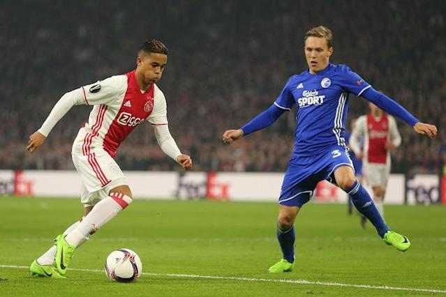 Kluivert Snr. represented Ajax, Milan and Barcelona, and scored a goal every other game for the Netherlands but his17-year-old hotshot son islooking good to follow in those footsteps