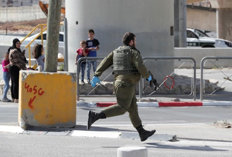 Security incident near Ramallah, in the Israeli-occupied West Bank