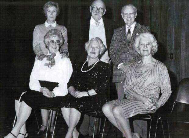 Mickey Place, top centre, was one of the well-known P.E.I. acting troupe The Venerables, which toured Canada for 25 years.
