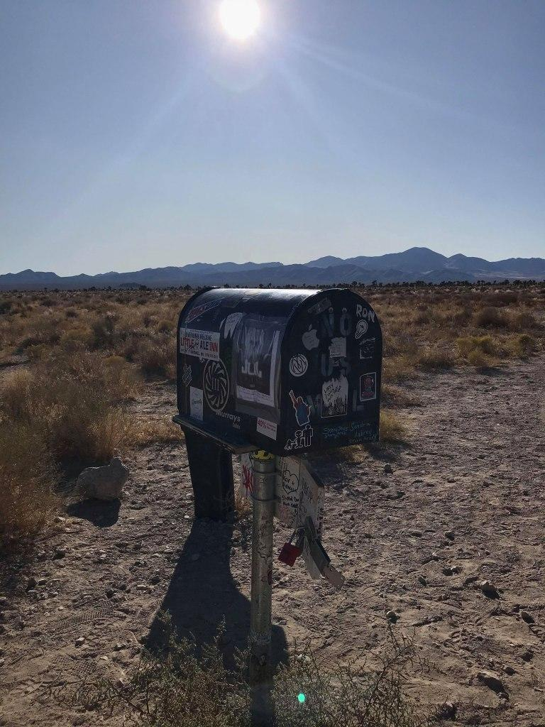 The Black Mailbox. | Jordan Runtagh