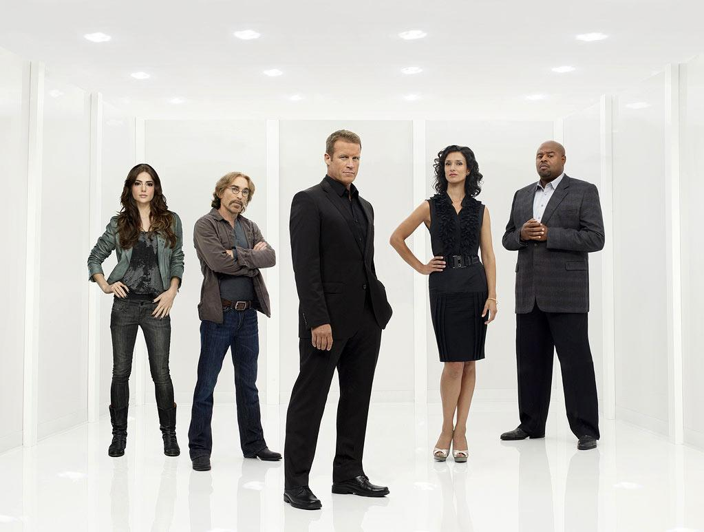 "The cast of ""Human Target."""