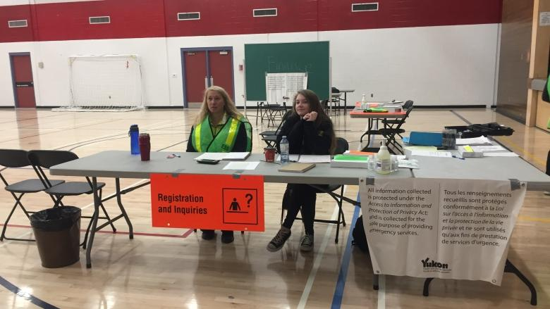 Whitehorse high school made into centre for Telegraph Creek fire evacuees