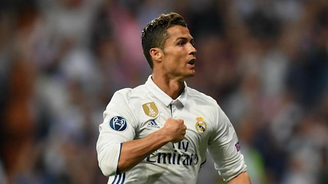 Cristiano Ronaldo scored a hat-trick as Real Madrid beat Bayern Munich in controversial fashion in the Champions League quarter-final.