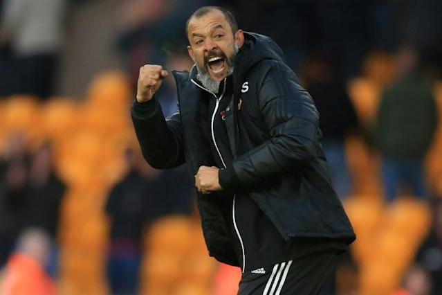 Nuno Espirito Santo is unhappy with Wolves' 'absurd' December fixture schedule (AFP Photo/Lindsey Parnaby)