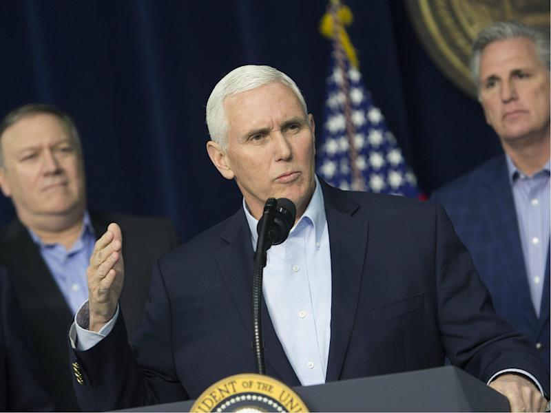 Mike Pence has damaged relations with the Middle East even further: Getty