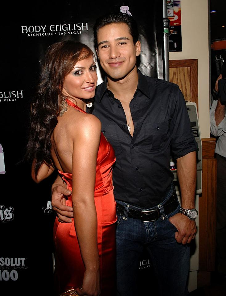 """<b>Mario Lopez & Karina Smirnoff</b><br>Season 3<br><br>Mario Lopez and pro Karina Smirnoff danced to second place on Season 3 of """"<a>DWTS</a>"""" in 2006. Their status as a duo did not end there: A real-life romance had begun on the dance floor. However, in 2008, they announced their breakup. """"Karina has parted ways with her two-year relationship with Mario Lopez,"""" Karina's spokesperson told People. """"The relationship wasn't heading in the right direction."""" Mario's rep issued a statement on the star's behalf: """"Karina and I have the utmost respect for each other. She is a phenomenal and talented woman. I support her always and feel blessed to have her in my life."""""""