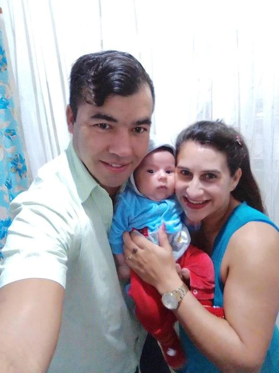 Luiz Edivaldo de Souza is accused of killing his wife and baby son last year. Source: Newsflash/ Australscope