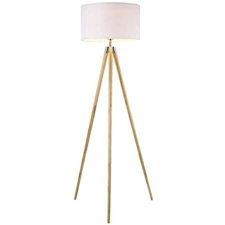 <p>With natural wood legs and a white fabric lamp shade, the <span>Light Society Celeste Tripod Floor Lamp</span> ($81) adds a contemporary yet neutral look to a space. It's perfect for home offices that need extra lighting.</p>
