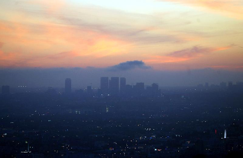 While California still has significant environmental problems, experts say there is no denying the state has adopted some of the world's toughest air quality standards, setting it at the forefront of the battle on climate change (AFP Photo/Gabriel Bouys)