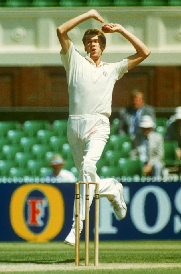 "Bruce Reid, 6'8"": Reid broke into the Australian side in the mid 1980s when the team was struggling to find its feet following the tearful departure of Kim Hughes. Gifted with a natural ability to extract bounce from the deadest of tracks, Reid could bring the ball in as well as shape it away from the batsman. Reid's crowning glory was the 13-wicket haul against England in the Boxing Day Ashes Test in 1990-91. In 27 Tests for Australia, the left-arm pace bowler claimed 113 wickets at 24.63 runs apiece. Frail in the body, Reid suffered frequent and serious injuries, and played his last Test in 1992, aged just 29. Reid returned to the public space when he undertook coaching duties for Australia's bowling attack for India's 2003 tour."