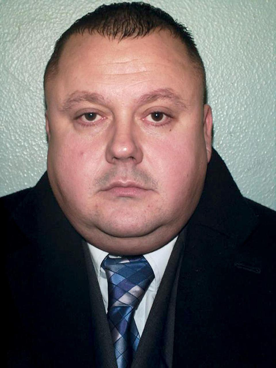 Metropolitan Police undated handout photo of Levi Bellfield who was found guilty at the Old Bailey today of the murder of two young women.