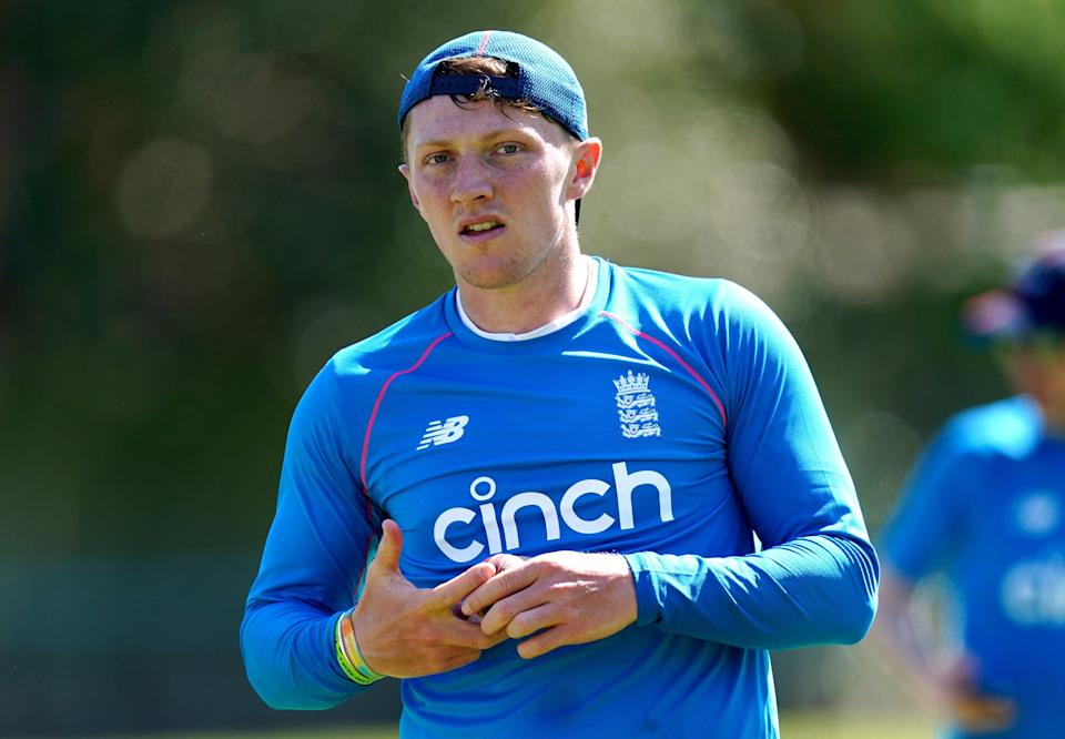 Dom Bess is ready if required during the five-match Test series against India (Mike Egerton/PA) (PA Wire)