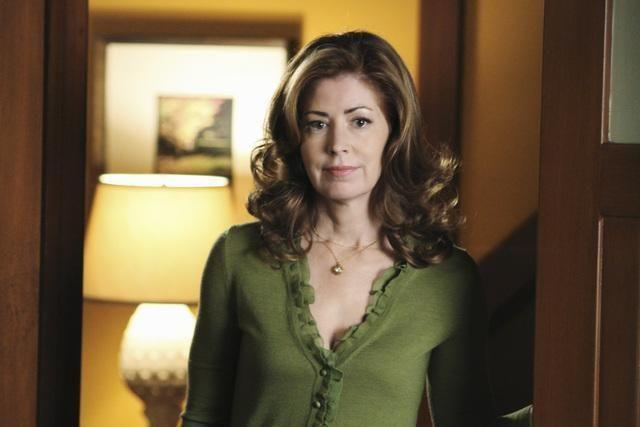 <p>Delany was initially offered the role of Bree, but turned it down. She joined the cast in season 4 as the icy caterer Katherine Mayfair.</p>