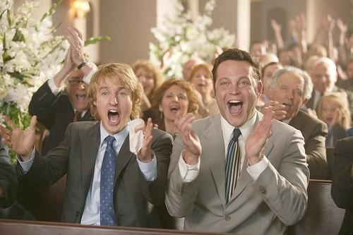 """Owen Wilson and Vince Vaughn in a scene from the 2005 comedy hit """"Wedding Crashers."""""""