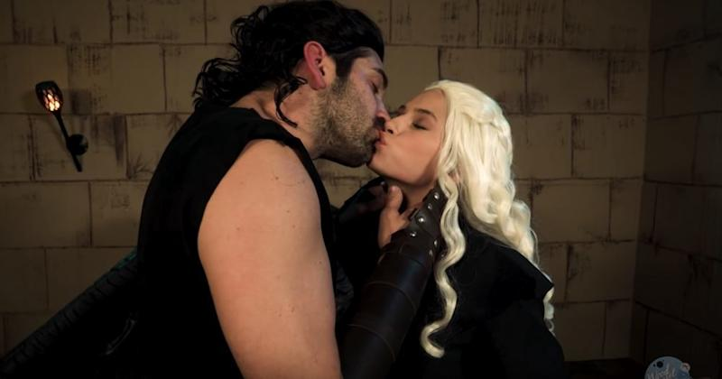 The internet is obsessed with this   Game of Thrones porn parody trailer, and you will be, too