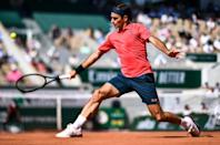 Federer looked in fine form against Istomin