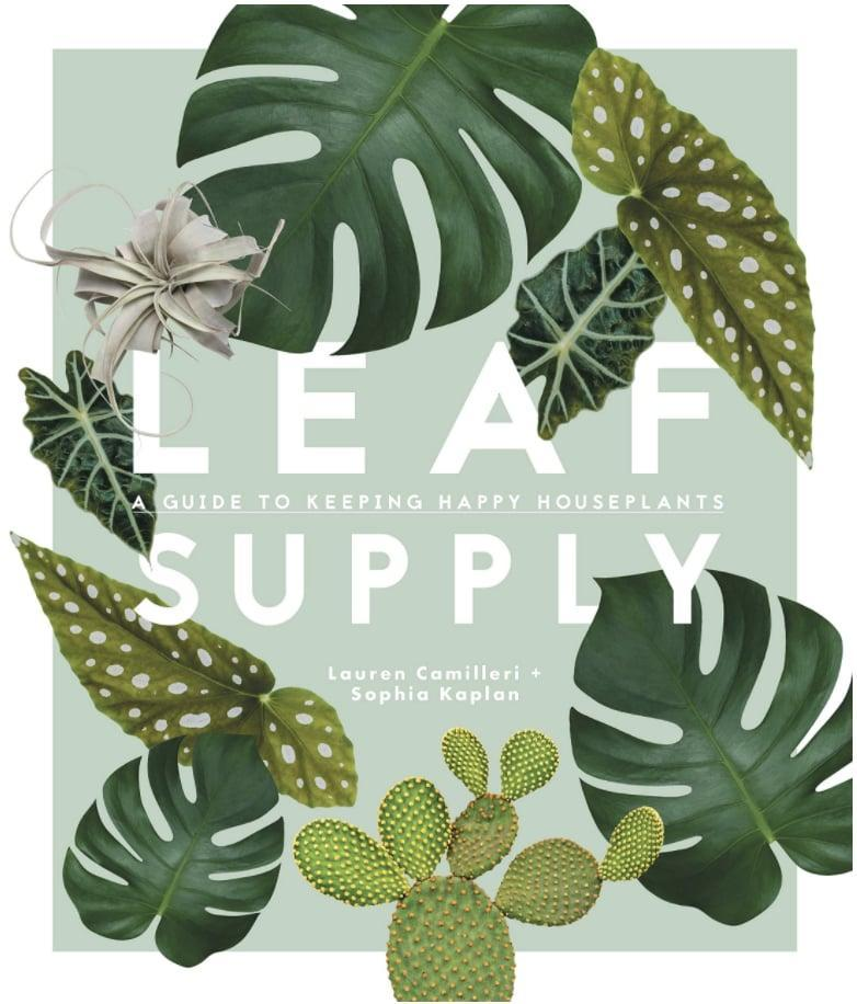<p>Anyone who's got a plant obsession will love reading <span>Leaf Supply: A Guide to Keeping Happy House Plants by Lauren Camilleri & Sophia Kaplan</span> ($23).</p>