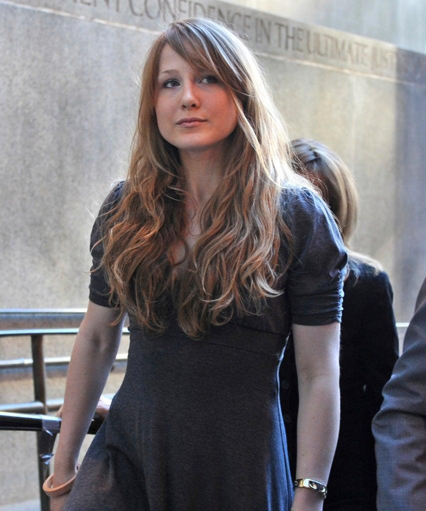 FILE – In this Aug. 31, 2010, file photo, Caroline Giuliani arrives at Manhattan criminal court with her mother, Donna Hanover, in backround. Giuliani is the daughter of Rudy Giuliani, who's vocal supporter of GOP presidential nominee Donald Trump, She told Politico in a report published Oct. 6, 2016, that she supports Democratic presidential nominee Hillary Clinton. (AP Photo/ Louis Lanzano, File)
