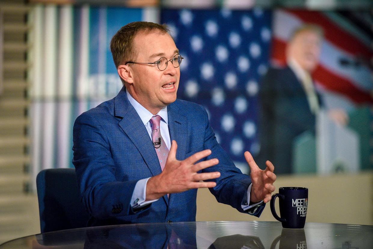 White House chief of staff Mick Mulvaney. (Photo: William B. Plowman/NBC/NBC NewsWire via Getty Images)