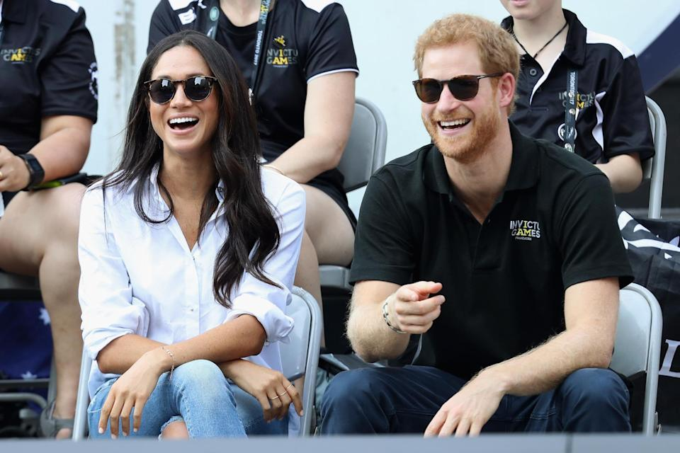Prince Harry was smitten with Meghan after watching her TV show. Copyright: [Rex]