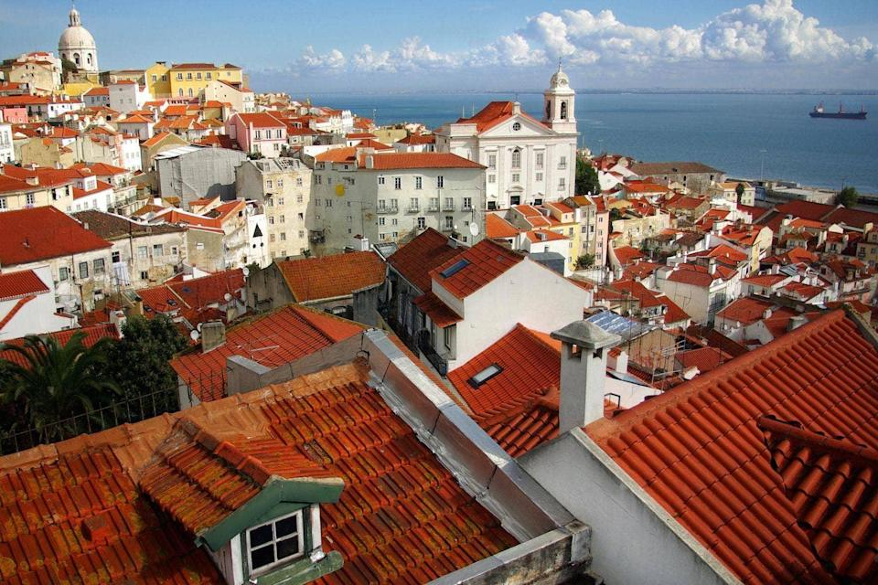 Blue-sky thinking: Lisbon, Portugal's picturesque capital, is enjoying a boom in tourism, tech start-ups and property sales (iStock)